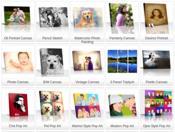 Snappy Canvas Art Collections!