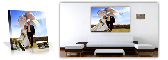 Wedding Portrait In Your Living Room