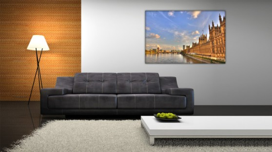 Room Decoration with Canvas Prints