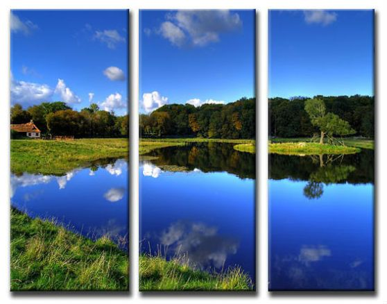 Photo to Canvas Styles, 3 PANEL TRIPTYCH